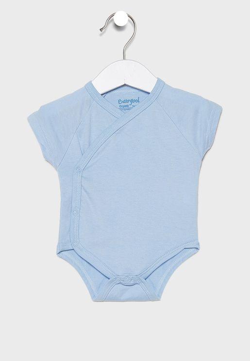 Infant 2 Pack Kimono Bodysuit