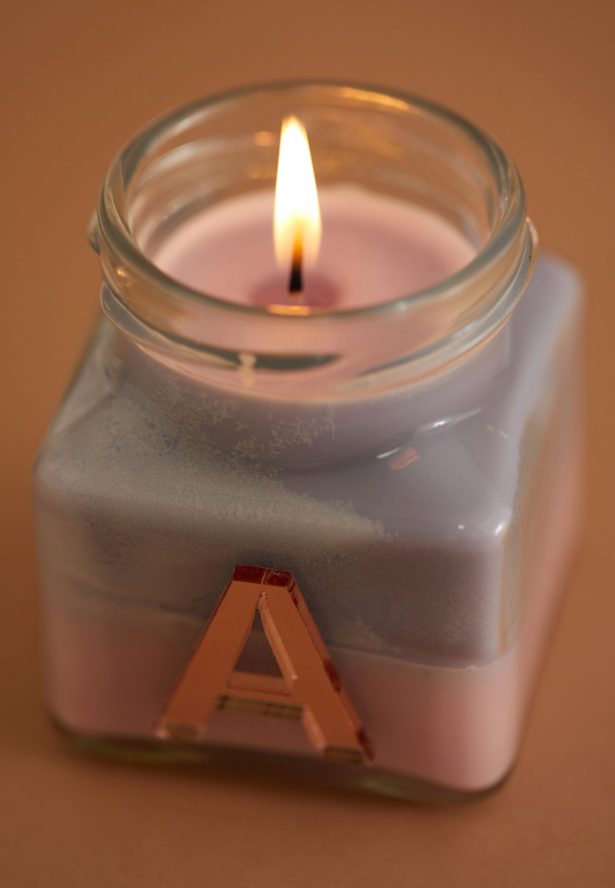 Vanilla Ylang Ylang Initial A Candle