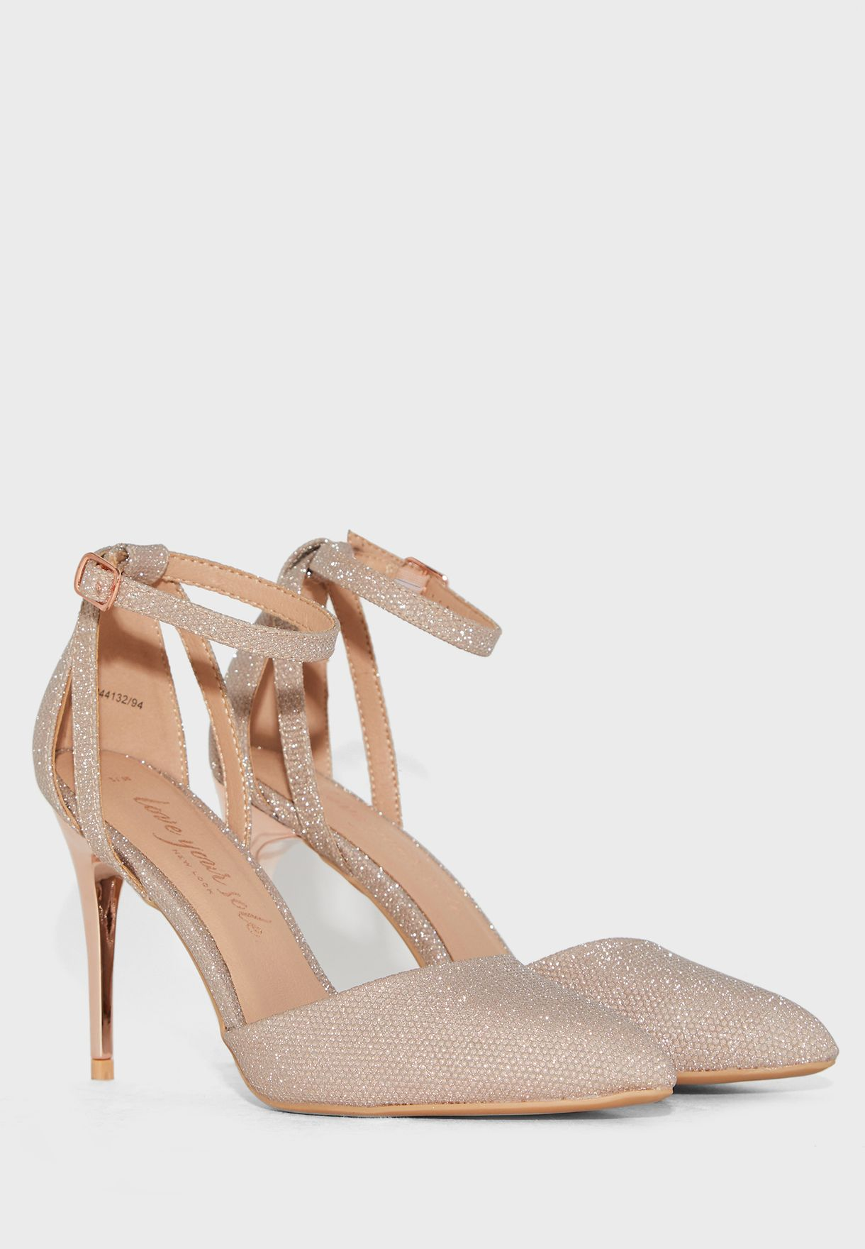 Serena Ankle Strap Buckle Detail Pump