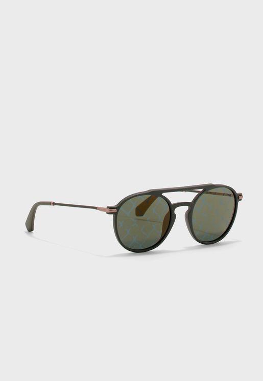 CKJ511S Round Sunglasses