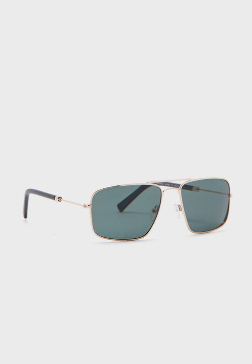 نظارة شمسية مربعة الشكل