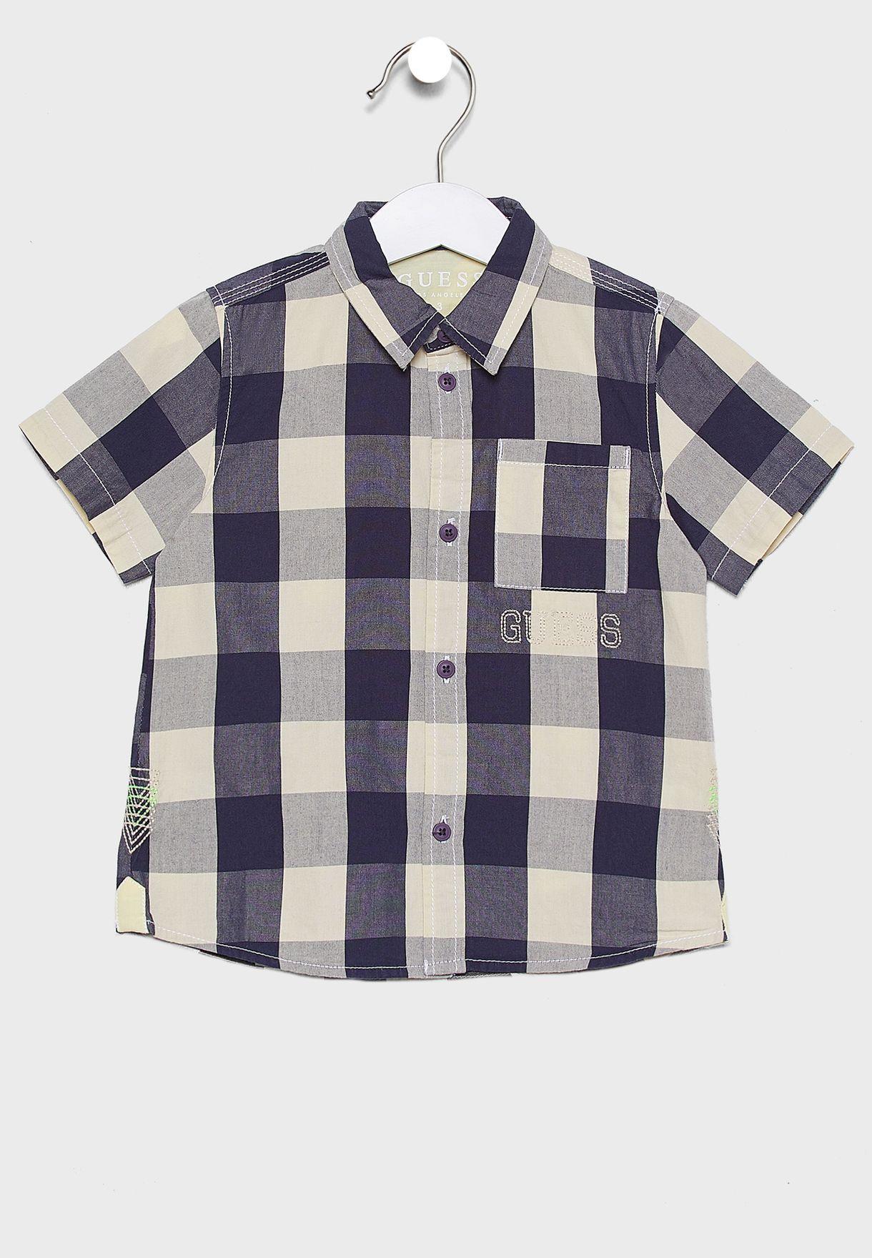 Kids Checked Shirt