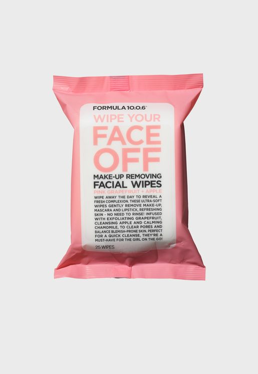 Wipe Your Face Off - Makeup Removing Facial Wipes