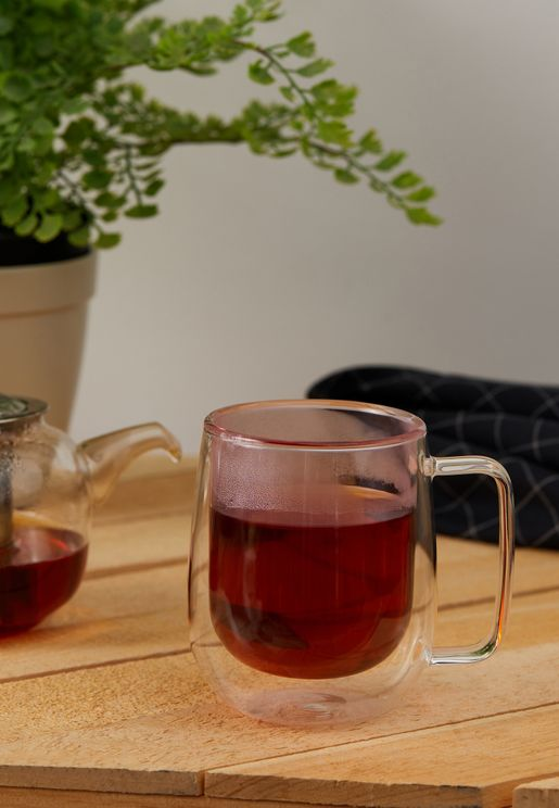 Double Walled Glass  Mug