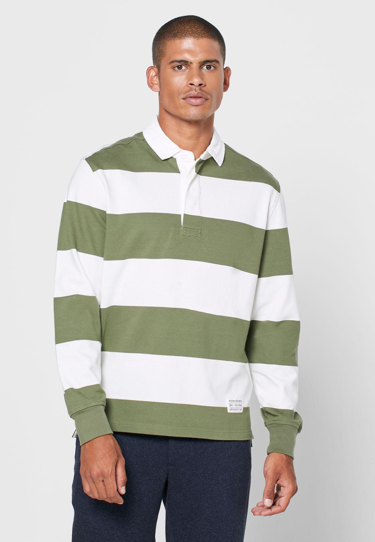 brett utbud 100% toppkvalitet riktigt bekvämt Buy Gant Stripes Bold Stripe Polo for Men in Mena, Worldwide, Globally    29840AT23SMP