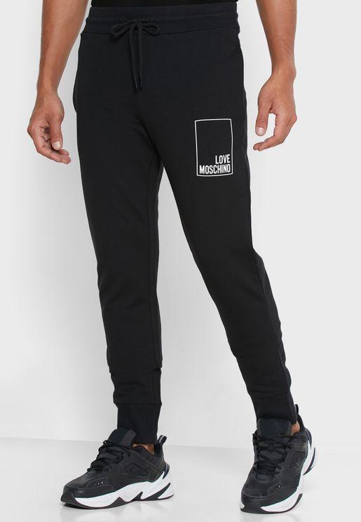 Logo Box Sweatpants