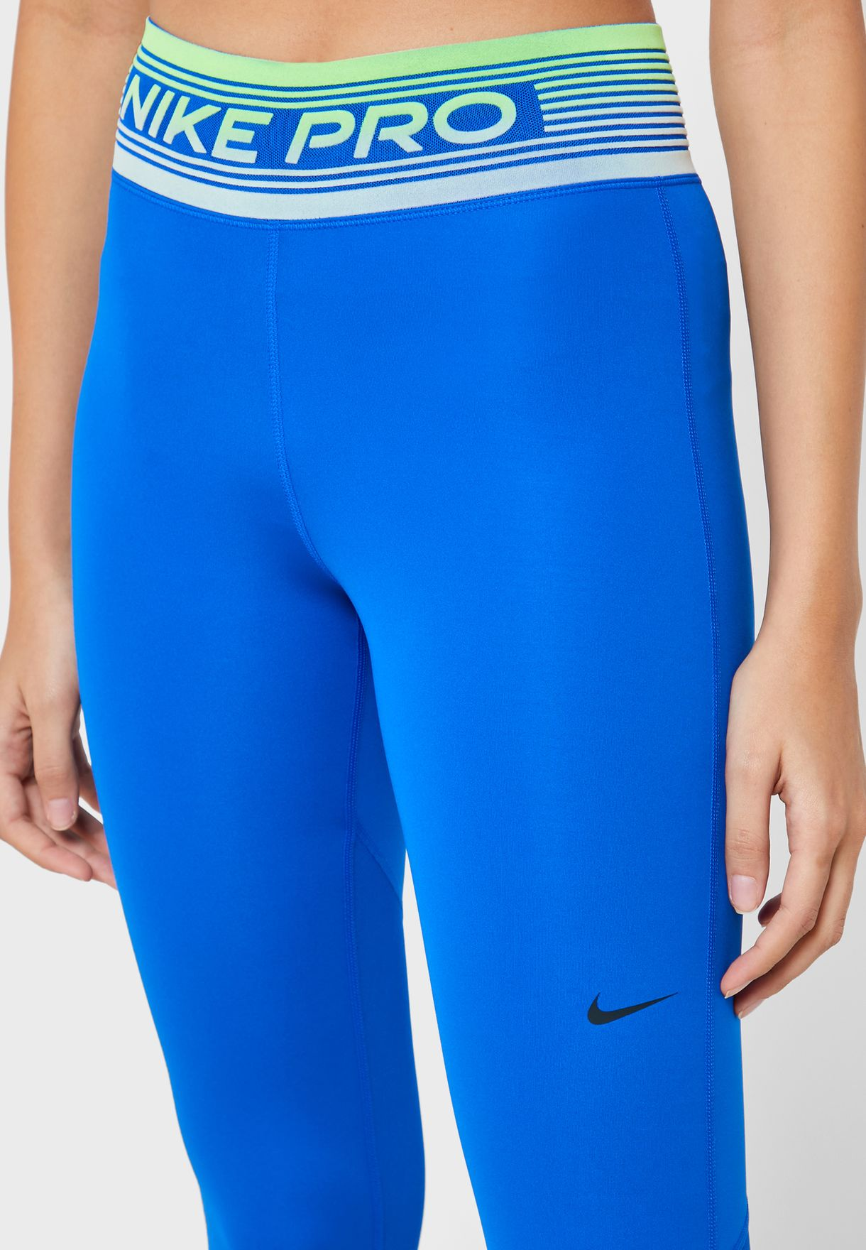 Buy Nike Blue Pro Tights For Women, Uae 72704at23gap