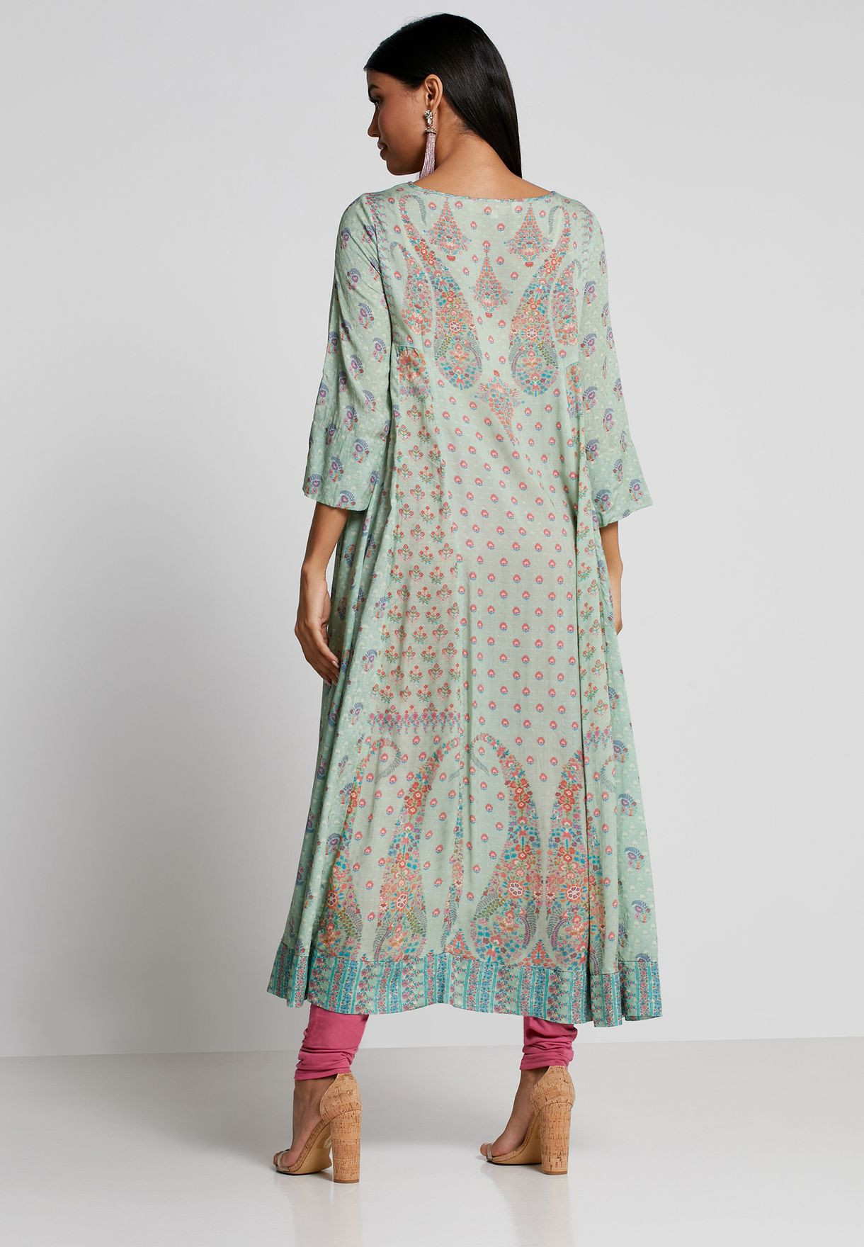 Printed Kurti & Leggings Set