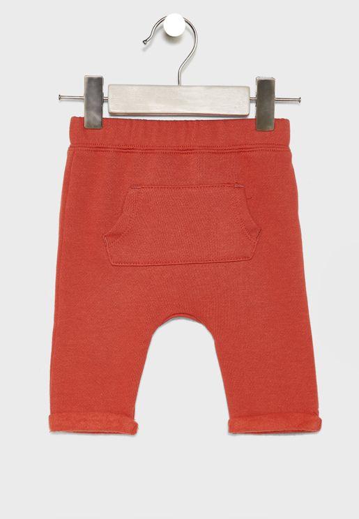 Infant Pocket Detail Sweatpants