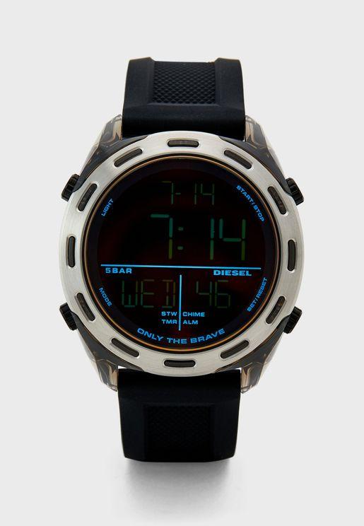 Classic Pu Strap Analog Watch