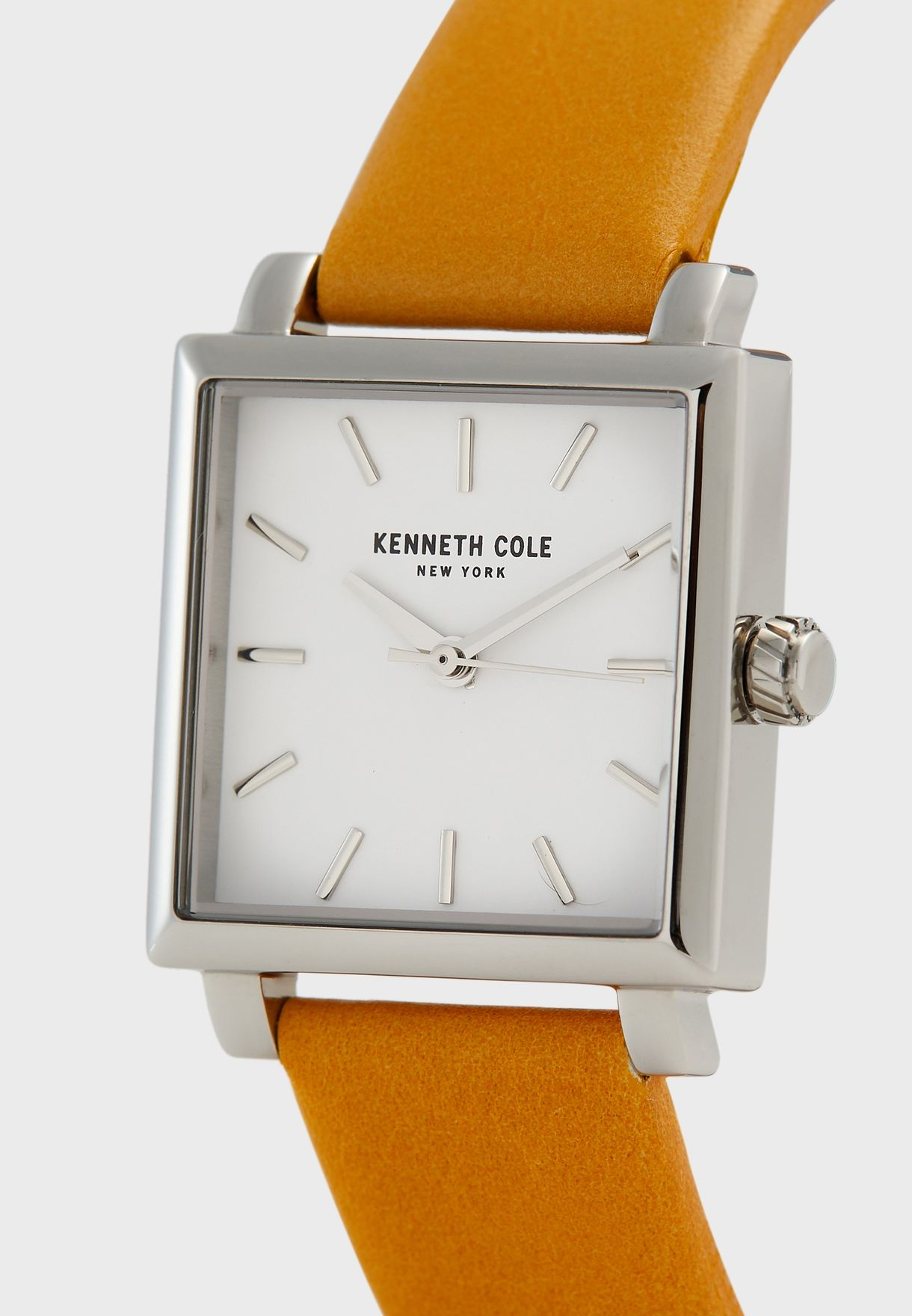 KC15175007 Leather Strap Analog Watch
