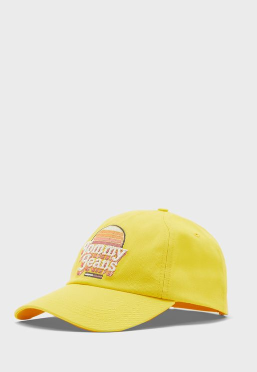 Graphic Curved Peak Cap