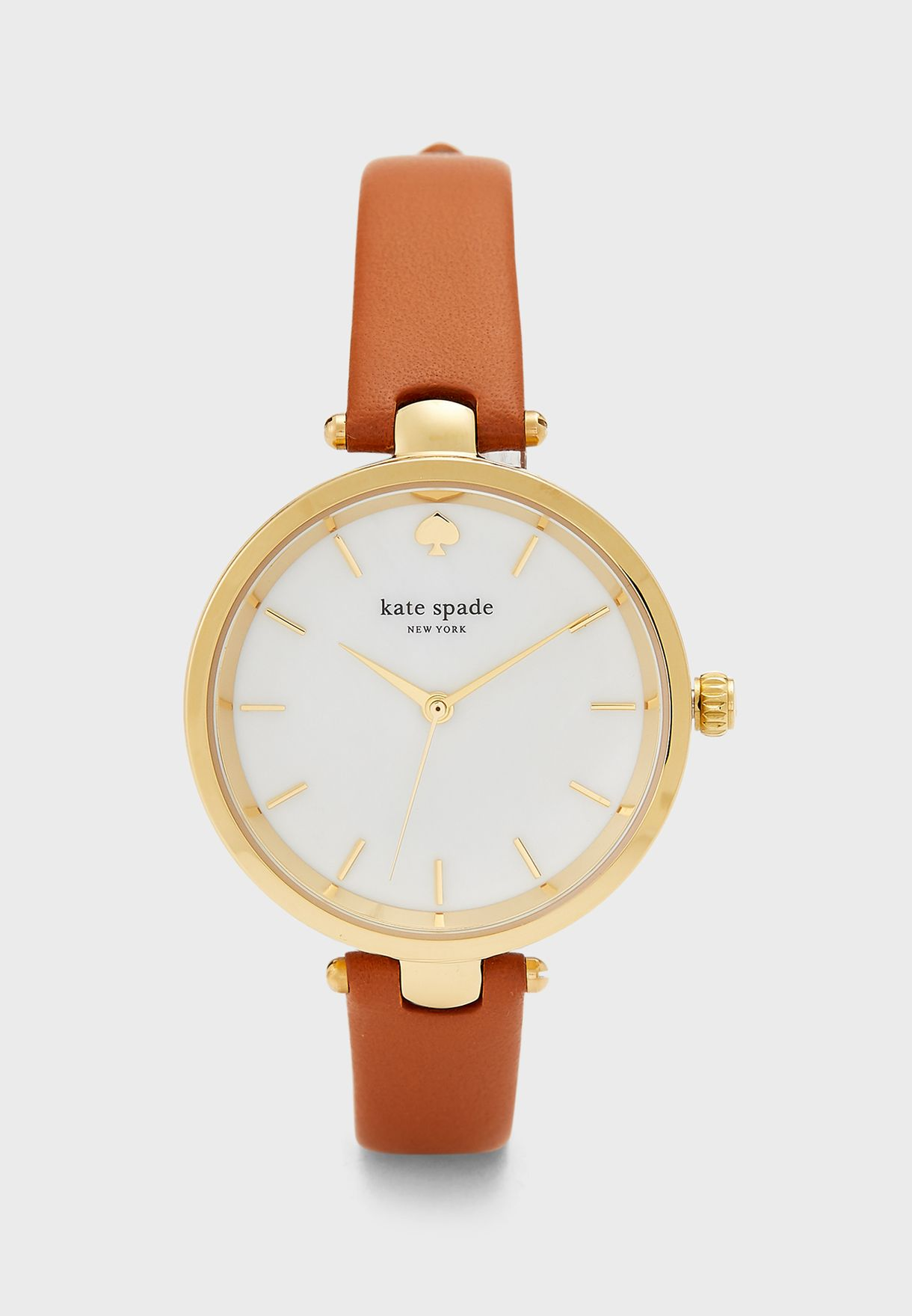 Holland Leather Strap Analog Watch