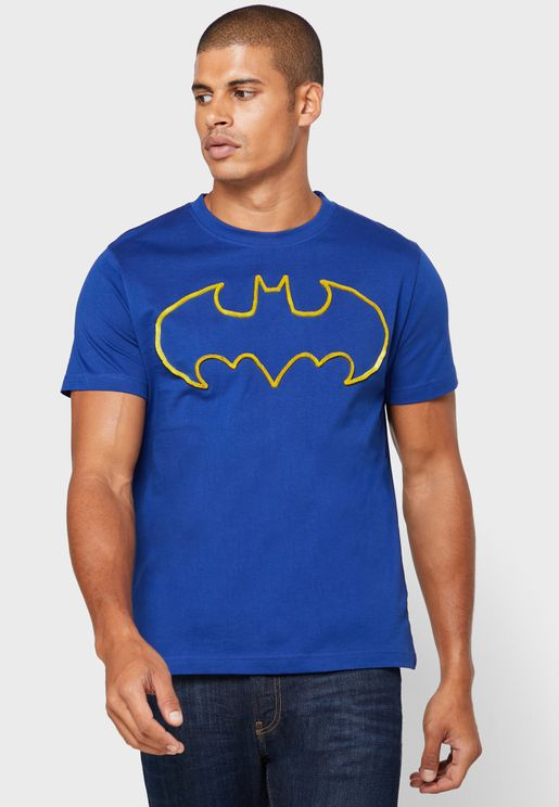 Batman Logo Crew Neck T-Shirt