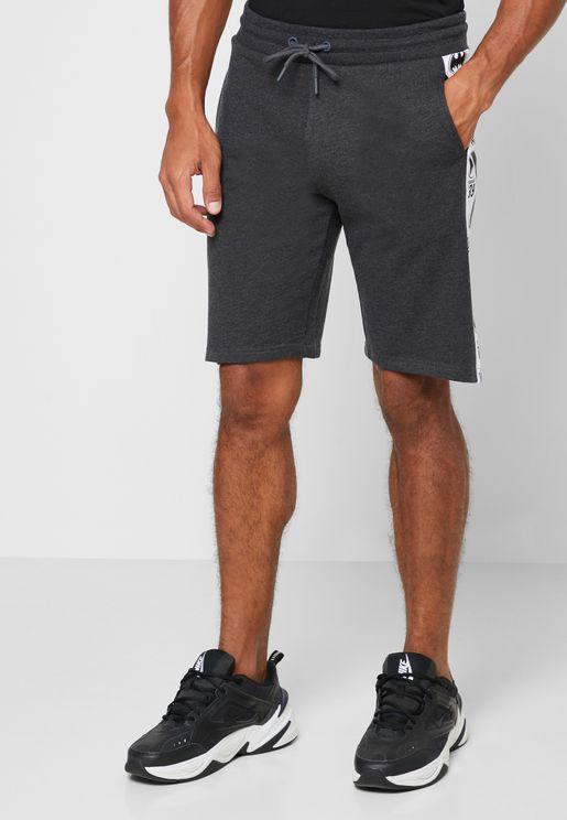 Batman Logo Side Stripe Shorts