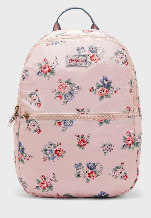 Foldaway Front Zip Backpack