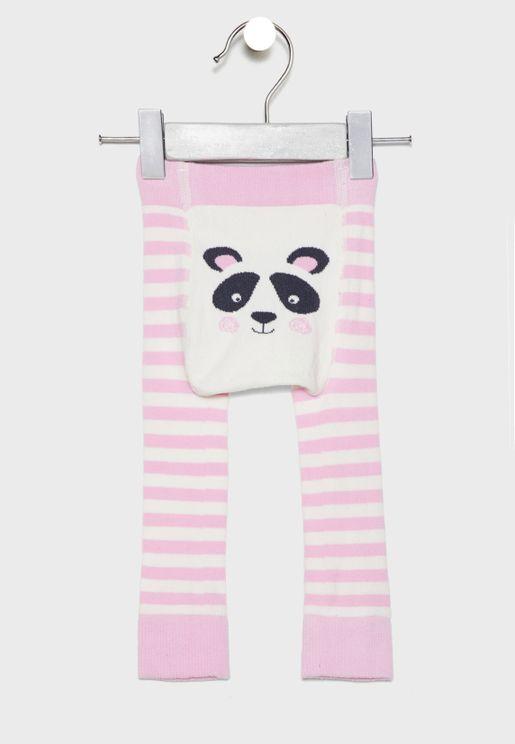 Infant Panda Graphic Leggings