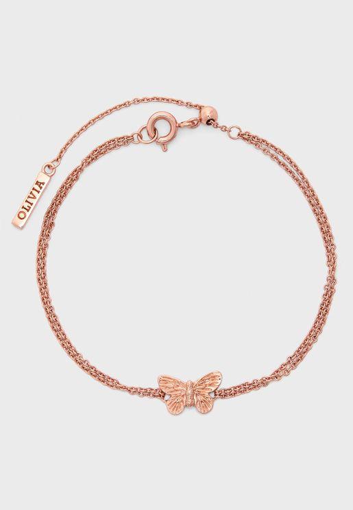3D Butterfly Bracelet