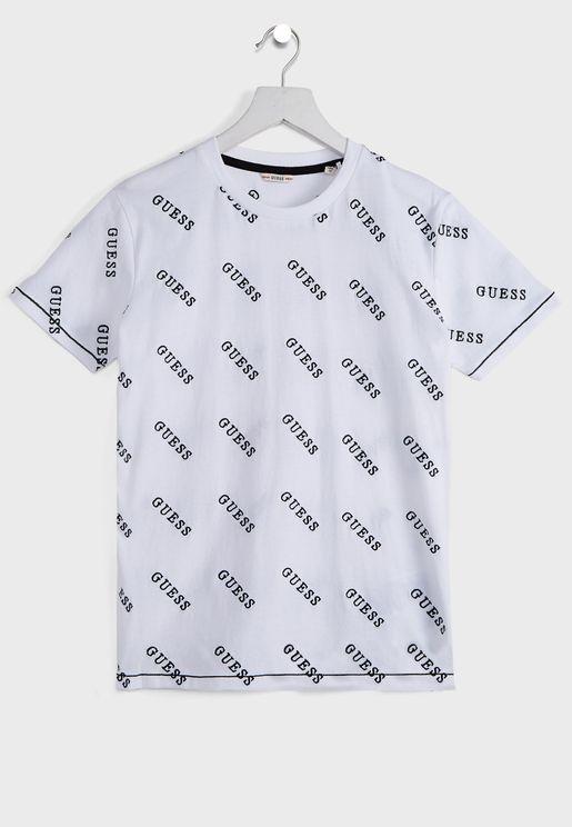 Kids Logo Printed T-Shirt