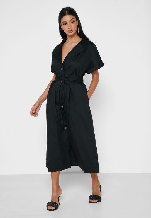 Side Split Dress