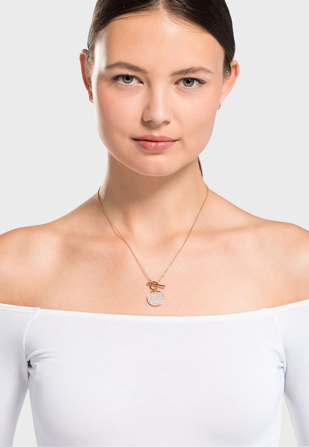 Ginger Pendant Necklace+Earrings Set