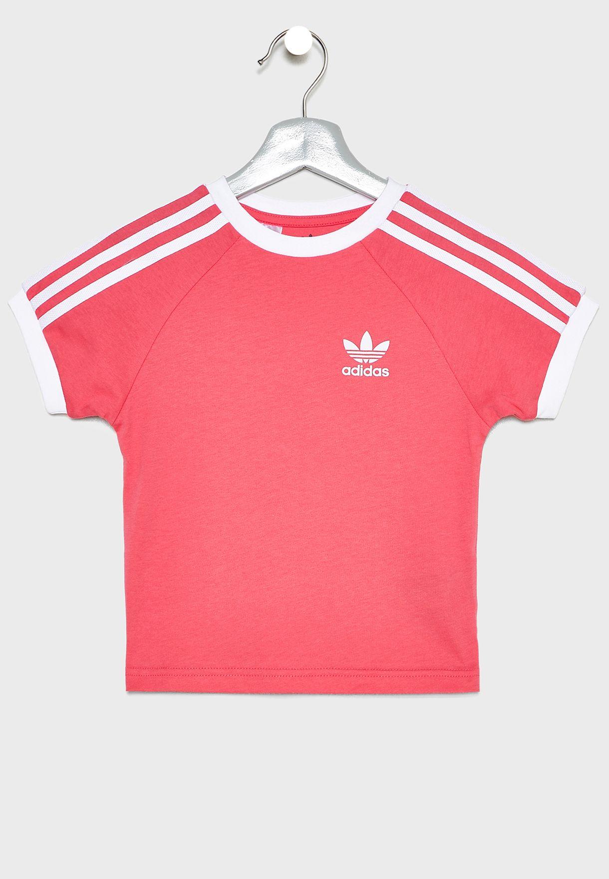 Kids 3 Stripe T Shirt