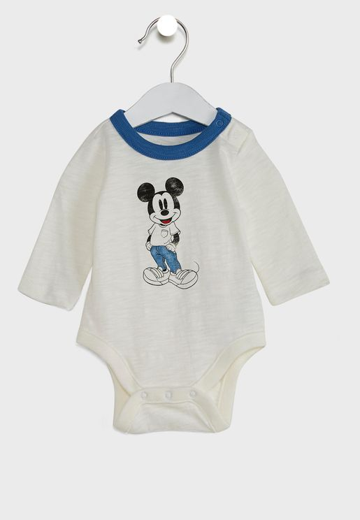 Infant Mickey Mouse Bodysuit