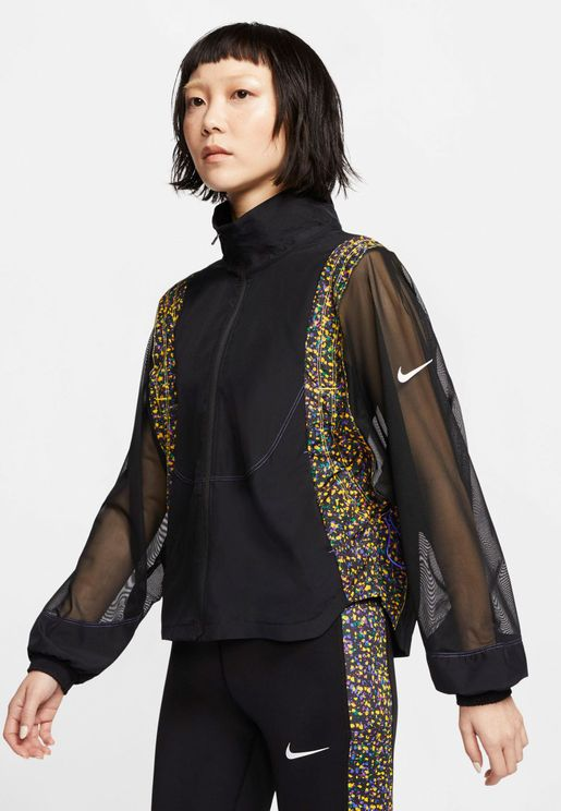 Icon Clash Printed Jacket