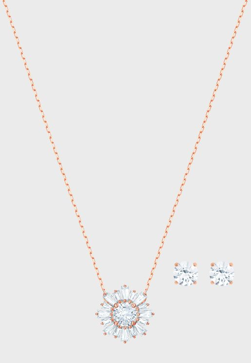 9990dd171d06 Sunshine Necklace+Earrings Set. PREMIUM. Swarovski