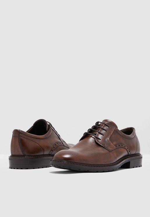 حذاء رسمي كلاسيكي بأربطة