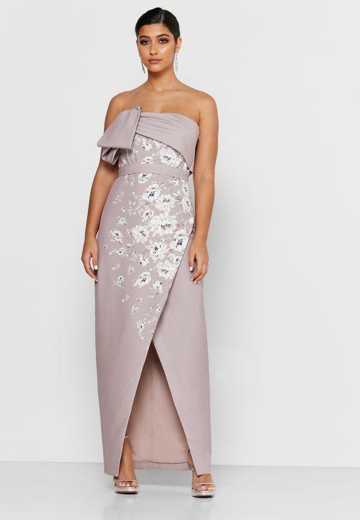 Bandeau Wrap Dress