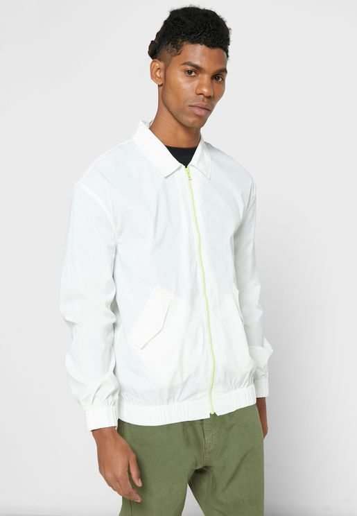 Relaxed Bomber Shacket