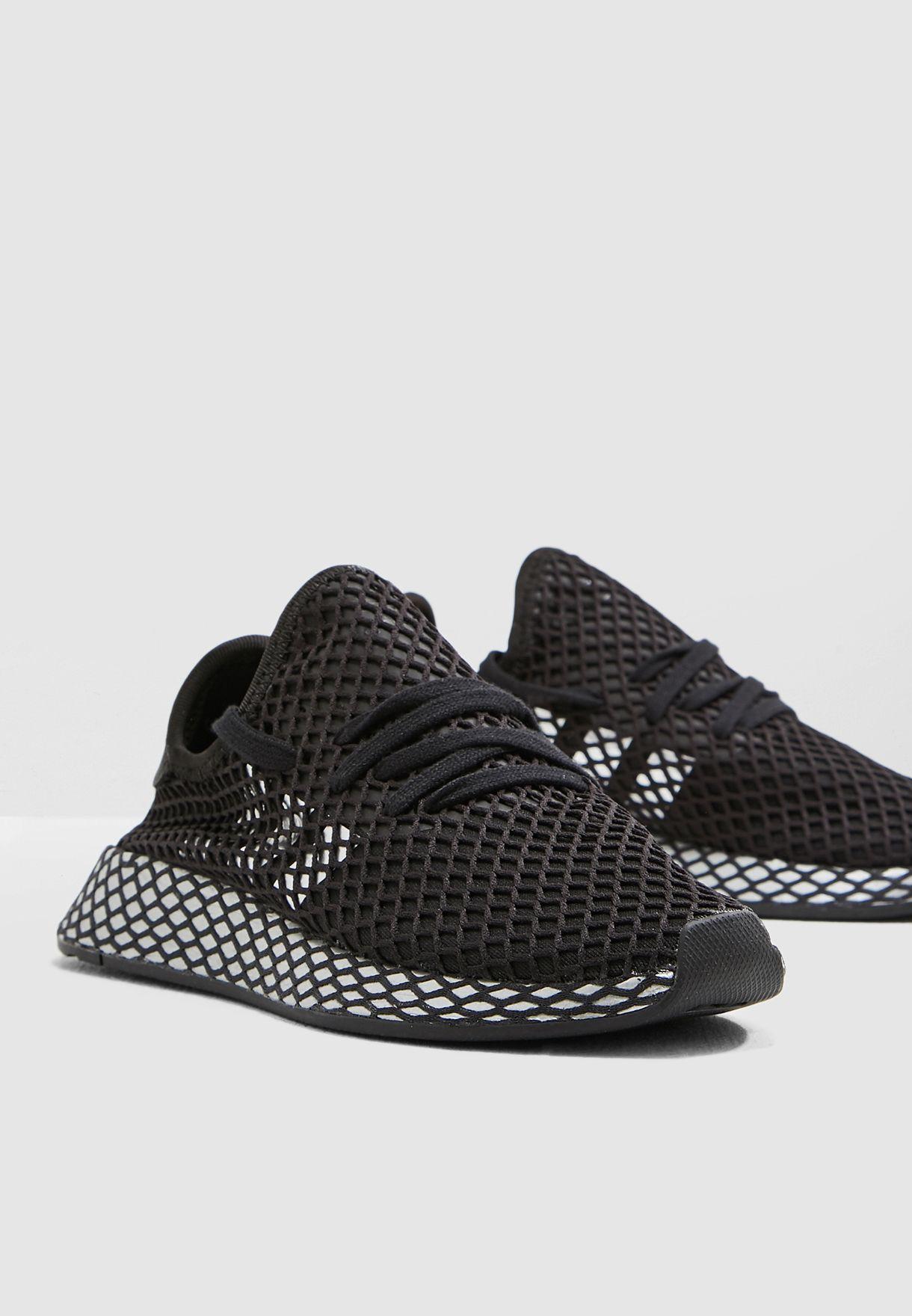 5317843f69624 Shop adidas Originals black Deerupt Runner CG6088 for Women in UAE ...