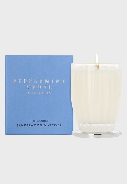Sandalwood & Vetiver Candle - 200g