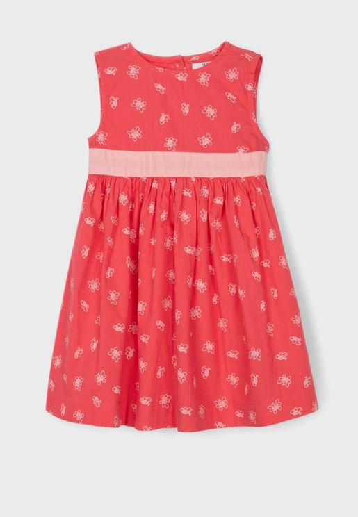 Infant Butterfly Print Dress
