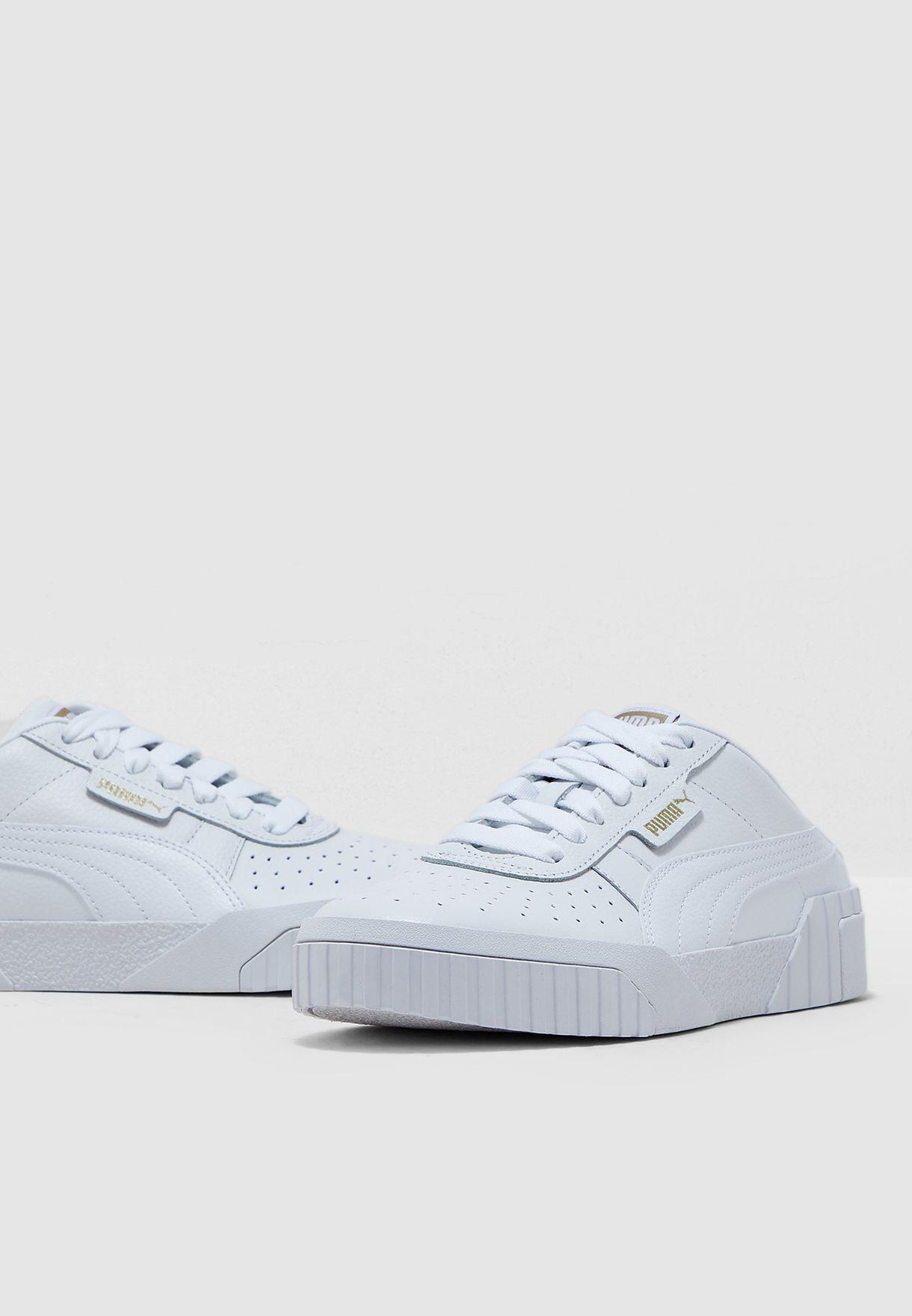 7438192b8cd6f Shop PUMA white Cali Mule 37183601 for Women in UAE - 20000SH33WZP