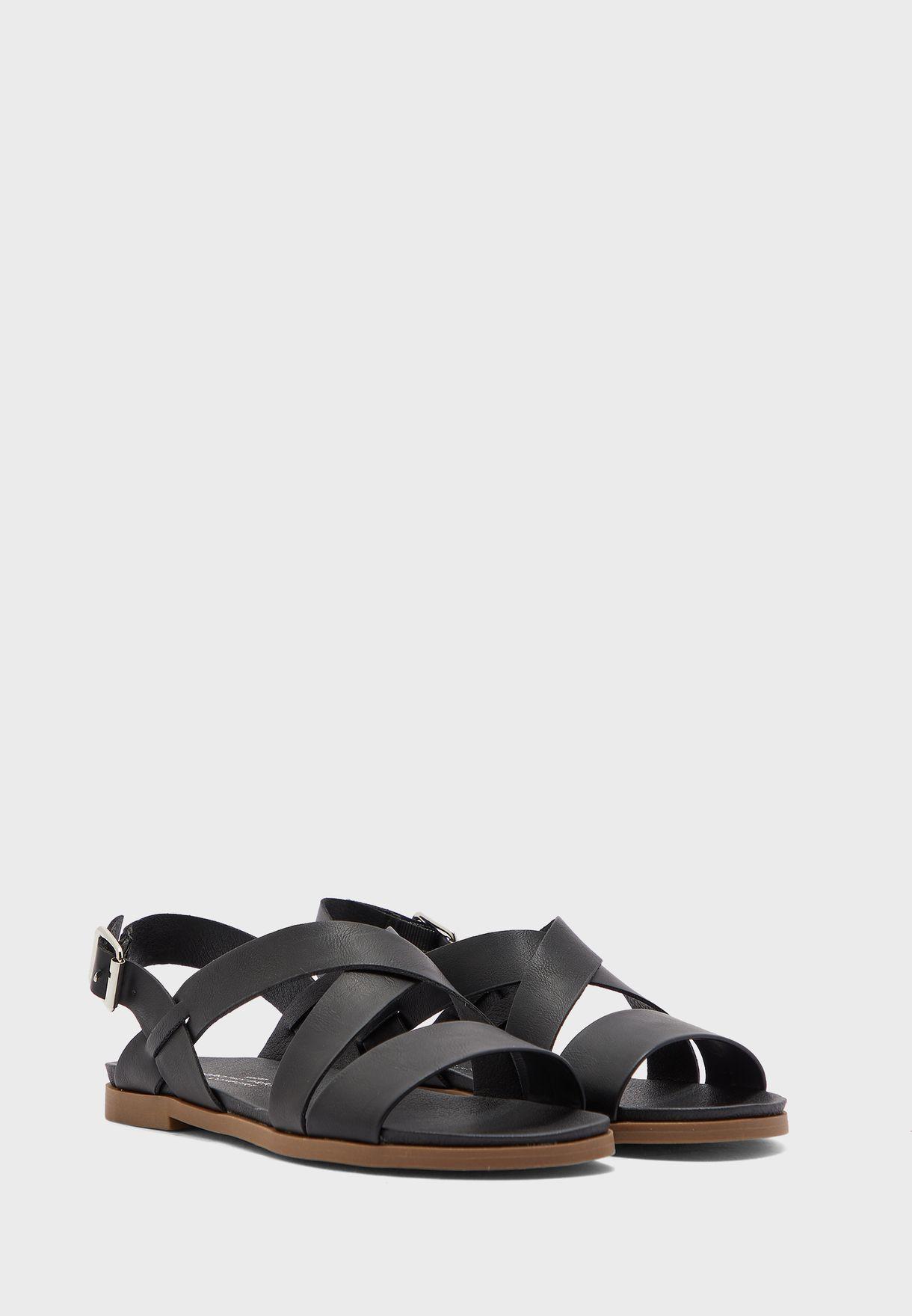 Franc Cross Over Comfort Sandal