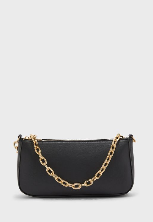 Cassie Chunky Chain Detail Tote