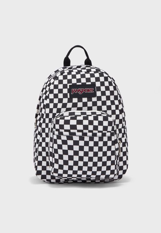 Kids Checked Half Pint Backpack