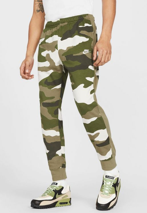 NSW Club Camo Sweatpants