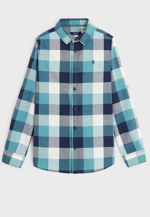 Youth Checked Shirt