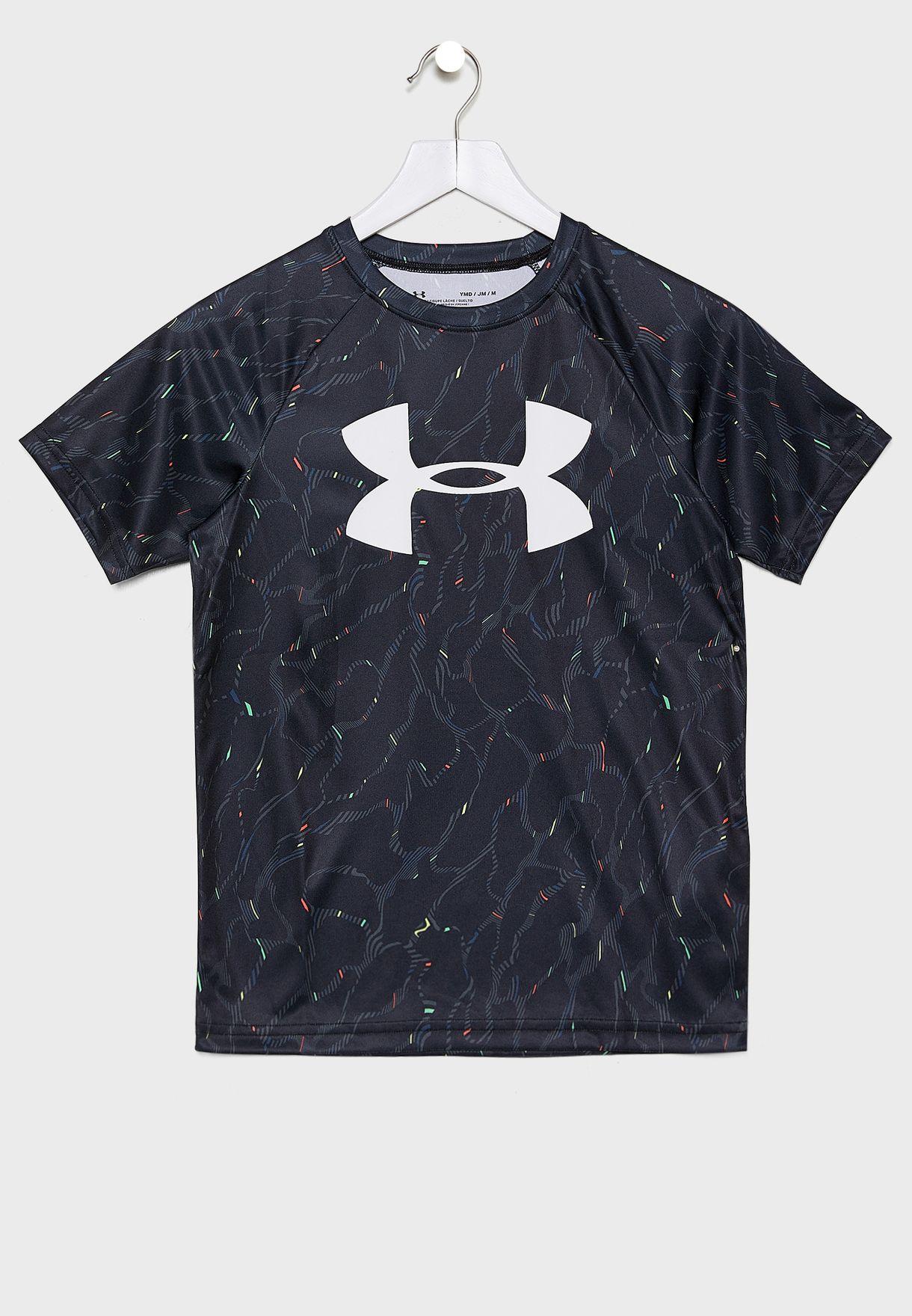 Youth Tech Big Logo T-Shirt