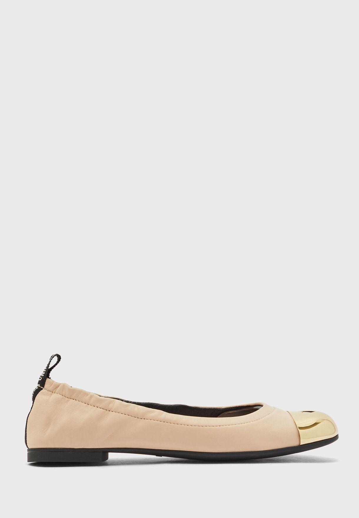حذاء بالرينا جلد اصلي