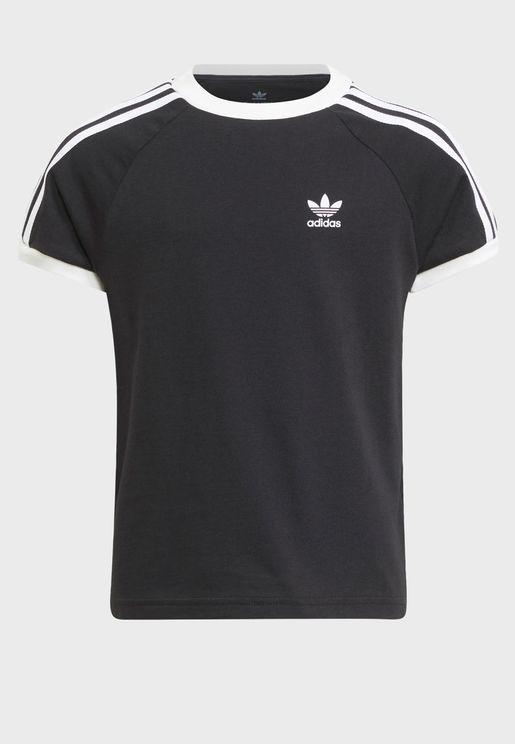 Kids Adicolor 3 Stripe T-Shirt