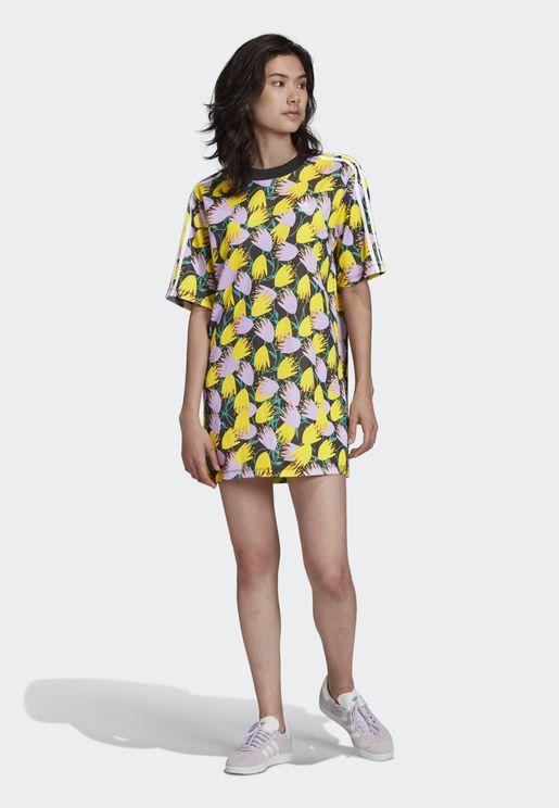 AOP T-Shirt Dress