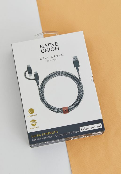 2M Cable Twin Head Lightning Cable