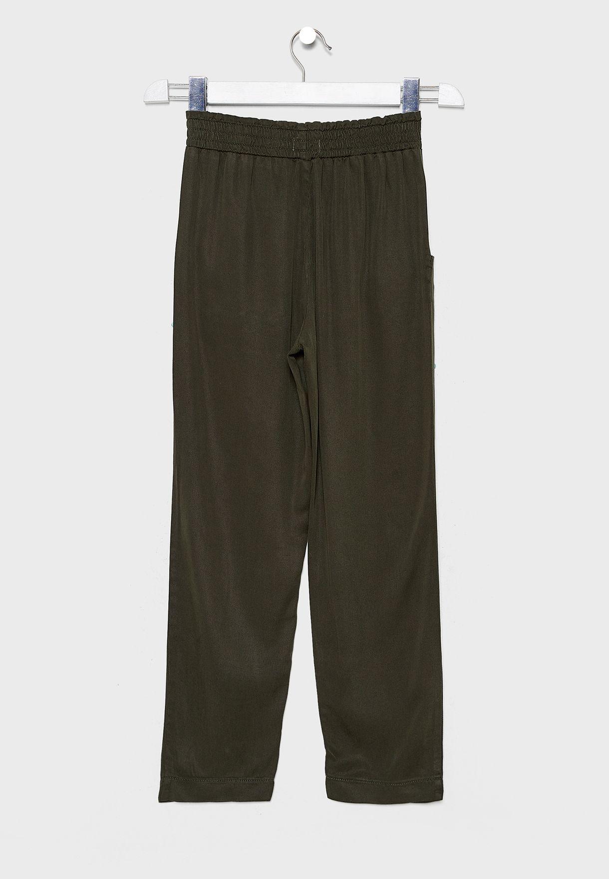 Kids Pocket Details Trouser