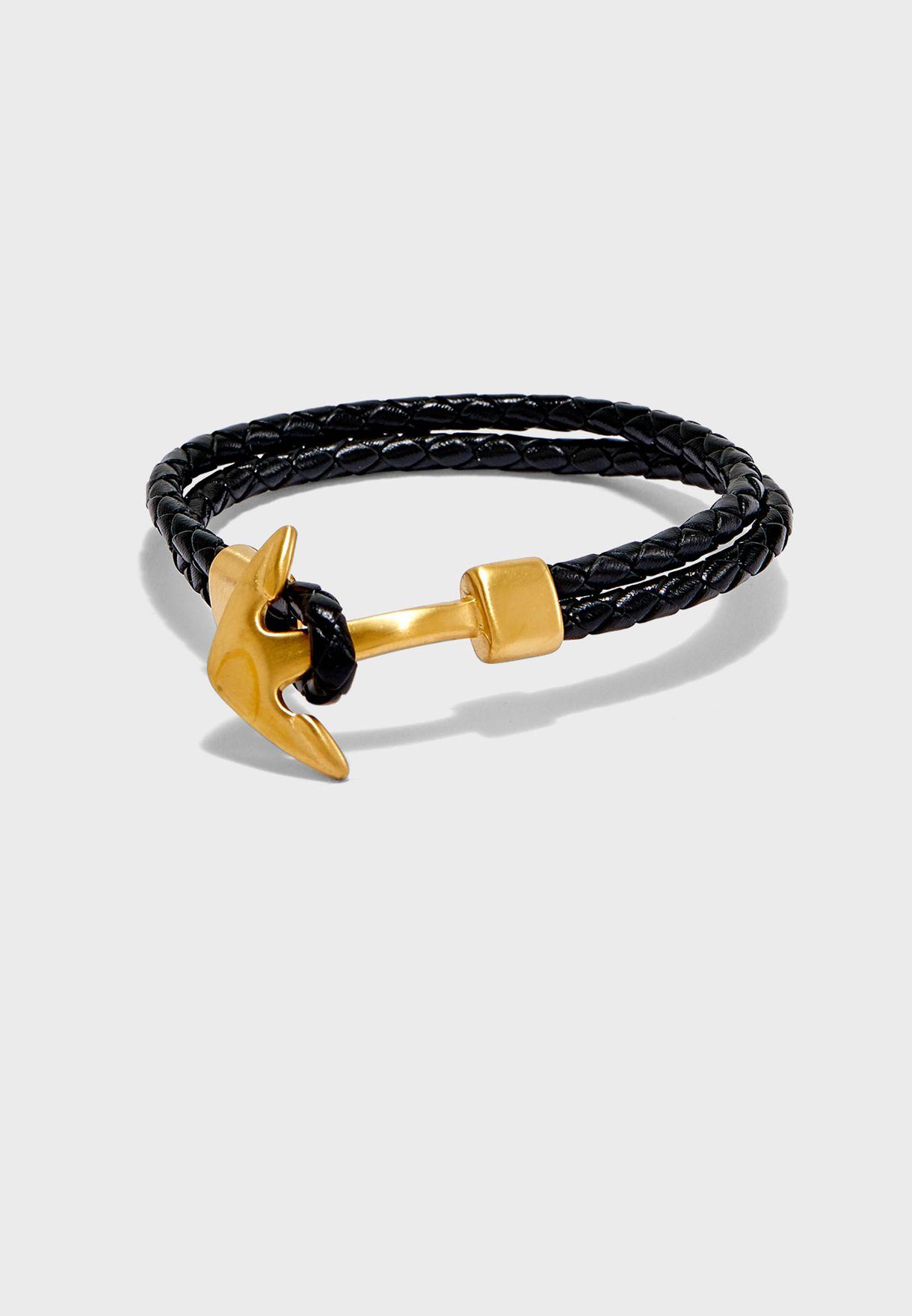 Anchor Lock Bracelet