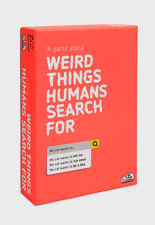Weird Things Human Search For Card Game