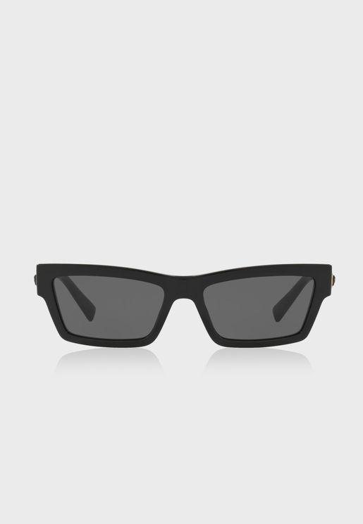 نظارة شمسية بشكل عين القطة 0VE4362